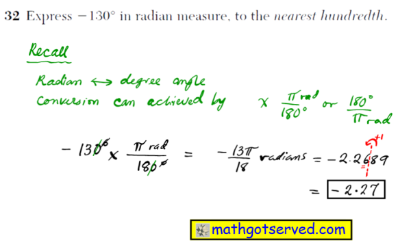 NYS Regents 2016 January algebra 2 Solutions 33 Determine the area, to the nearest integer, of SRO shown below.